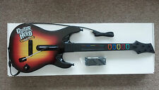 NEW (x2) Xbox 360 Guitar Hero World Tour Wired Sunburst Guitars RARE 60319.805