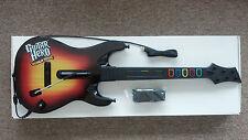 NEW Xbox 360 Guitar Hero World Tour Wired Sunburst Guitar RARE 60319.805
