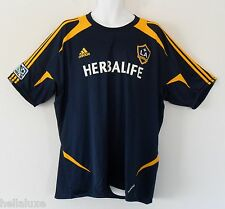 Adidas LA GALAXY PREGAME Top FORMOTION Soccer Jersey Shirt David Beckham~Men 2XL