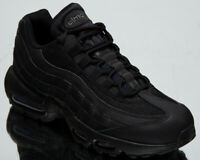 Nike Air Max 95 Essential Men's Black Dark Grey Casual Lifestyle Sneakers Shoes