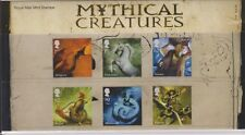 GB 2009 MYTHICAL CREATURES PRESENTATION PACK No. 428 SG:2944-2949 MINT STAMP SET