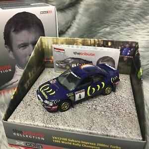 Corgi Vanguards 1:43 Colin McRae Tribute Subaru Impreza Turbo WRC 1995 VA12100