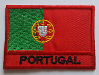 National Flag of Portugal Patch Sew On or Iron On Embroidered Country Badge