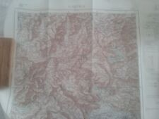 Carta L'Aquila (in italiano) - F° 139 - Scala 1:100.000 - Ed. IGM 1959