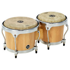 "LP Latin Percussion LPH601-SNC Highline Bongos Remo 6¾"" & 8"" Fiberskyn 3 Heads"