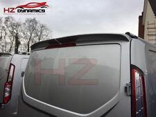 FORD TRANSIT CUSTOM TWIN BARN DOOR ROOF SPOILER ABS PLASTIC PRIMED | UK STOCK