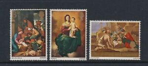Great Britain/GB - 1967, Christmas set - MNH - SG 756/8