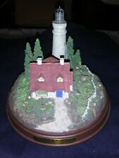 Collectibles Thomas Kinkade-Clearing Storms-Country Scene Lighthouse-(F22)
