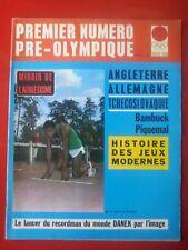 1964 MIROIR DE L'ATHLETISME  n°9 PRE-OLYMPIQUE TOKYO 1964 HISTOIRE DES JEUX