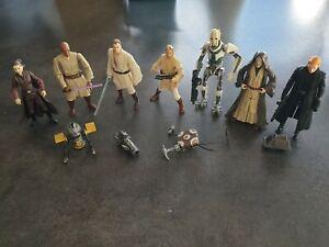 lot n°1 figurines star wars vintage