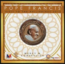 Philippinen Philippines 2015 Papst Franziskus Pope Francis Besuch Visit MNH