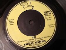 CHARLES AZNAVOUR . SHE ( theme from T.V. Series Seven Faces of Woman ? )  . 1974