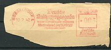 FLAMME DEUTSCHE REICH 1942  DUSSELDORF 1  PROPAGANDE