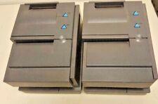Lot of two Ibm 4610-Tg4 SureMark Thermal Pos Printers 41J9220