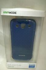 Anymode Hard Case for Samsung Galaxy SIII S3 Blue NEW in Box