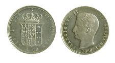 096) NAPOLI Regno Due Sicilie Francesco II di Borbone (1859-1860) TARI' 1859