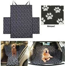 Heavy Duty Water Resistant Car Dog Pet Boot Liner Mat & Bumper Protector - Black