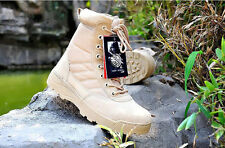 MENS SPECIAL FORCES MILITARY BOOTS ARMY TACTICAL COMBAT OUTDOOR SHOES SWAT
