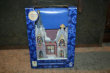 RARE Holiday Seasons Victoria Falls Porcelain Lighted House Series 4 MINT COND!!