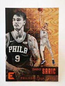 Panini Essentials 2017-18 N36 card NBA Philadelphia 76ers #125 Dario Saric