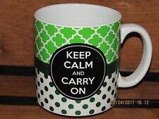 Keep Calm! 'Keep Calm And Carry On' Large Coffee/Tea/Hot Chocolate/ Mug ~ NEW!