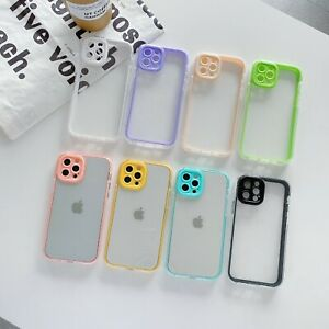 10pc/lot Hybrid 3 in 1 Shockproof Transparent Soft Case For iPhone 7 8 11 12 13