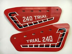 Fantic 240 Trials Forward kick Twinshock Side Panels And Sticker Kit
