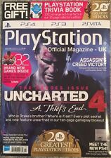 Play Station The Heroes Issue Uncharted 4 February 2015 FREE SHIPPING!
