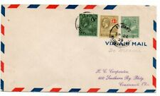 Antigua 1929 Lindbergh First Flight Cover to US FAM 6-19