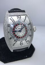 FRANCK MULLER CASABLANCA XXL DIAMOND AUTOMATIC WATCH 9880 D BRAND NEW WITH BOX!!