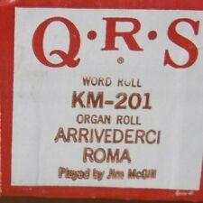 Qrs Kimball Electramatic Player Organ Arrivederci Roma Nos Rare Km -201