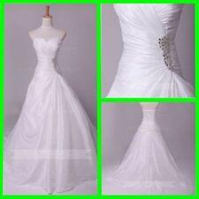 Beading Taffeta Sleeve Wedding Dresses