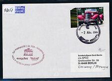 98051) EASY JET FISA So-LP Genf Schweiz - Berlin 25.4.2009, Brf Peru Oldtimer