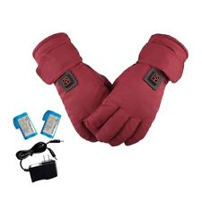 Winter Heated Gloves Men Women Rechargeable Warmer Touch Screen Ski Sport Ride