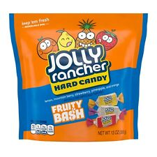 NEW JOLLY RANCHER HARD CANDY FRUITY BASH 13 OZ RESEALABLE BAG FREE SHIPPING BUY