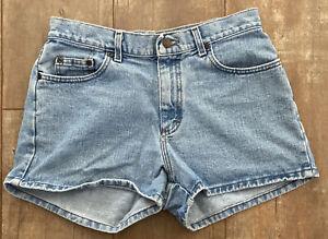 Lee Vintage Light Wash High Rise Denim Mom Shorts Women's Size 11