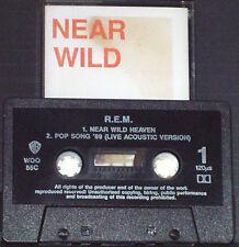 REM NEAR WILD HEAVEN CASSETTE SINGLE Alternative Rock 2 TRACK inc. Live acoustic