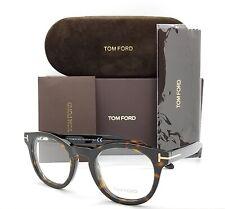 NEW Tom Ford RX Glasses Dark Havana TF5489/O 052 48mm AUTHENTIC FT5489 rx black