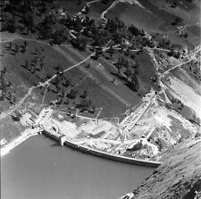 COL DE LA PELOUSE c. 1938 - Barrage Italie - Négatif 6 x 6 - ITAL 597