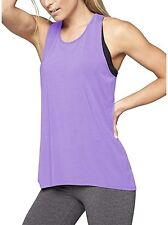 Mippo Womens CrossBack Yoga Shirt Activewear Workout Clothes Racerback Tank Top