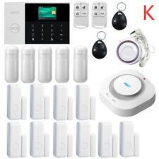 Alarme maison sans fil système d'alarme de sécurité anti-vol WIFI SIM GSM