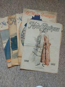1922 French Fashion Magazines