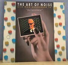 "ART OF NOISE WITH MAX HEADROOM Paranoimia 1986 UK 12"" Vinyl Single EXCELLENT CON"