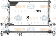 Renault Master X62 2.3L Turbo Diesel Radiator 9/2011 onwards Manual 214107695R