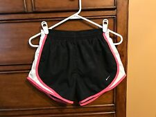 Nike #211646 FIT DRY Women's Tempo Lined Running Track Shorts: XS, Black/Pink