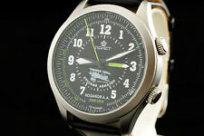 Russian Aviator with mechanical buzzing alarm military style watch Poljot 2612.1