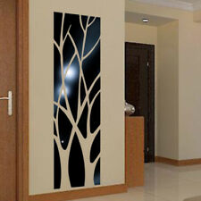 Mirror Wall Sticker Tree DIY Art Mural Home Room Decor Acrylic Removable Decal