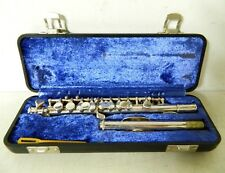 Vintage Silver-plate Artley 15-P Piccolo Flute with Case