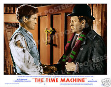 THE TIME MACHINE CUSTOM LOBBY SCENE CARD # 9-A POSTER 1960 ROD TAYLOR ALAN YOUNG