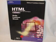 HTML : Complete Concepts and Techniques second edition